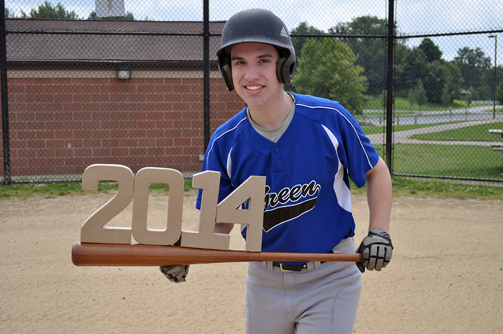 Danny Rasicci, Gina Rasicci, Class of 2014, Senior Picture, Portrait, Photography, Baseball