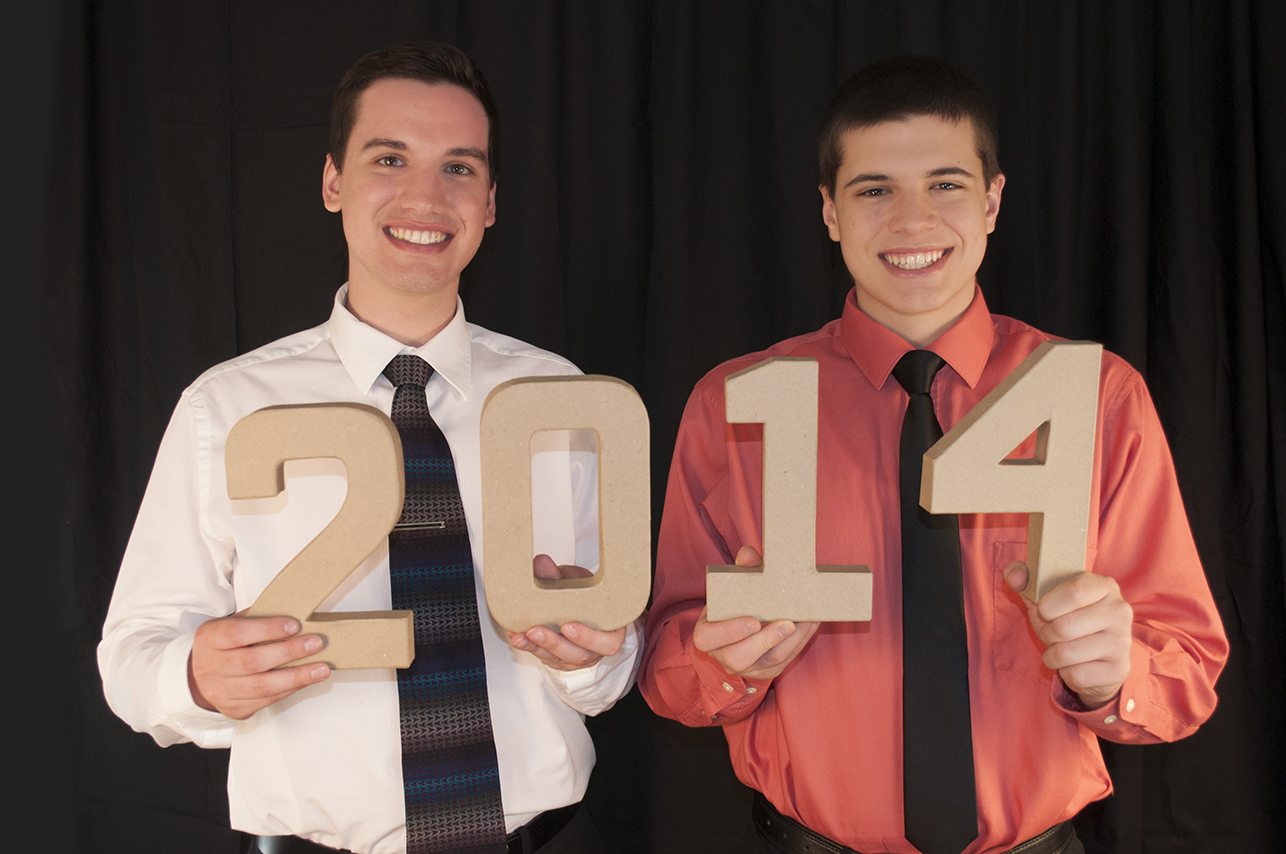 Danny Rasicci, Randy Ciocca, Gina Rasicci, Class of 2014, Senior Picture, Portrait, Photography