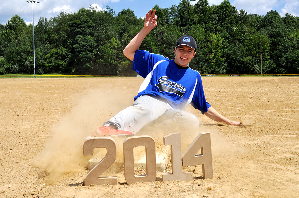 Randy Ciocca, Gina Rasicci, Baseball, Class of 2014, Senior Pictures, Portrait, Photography