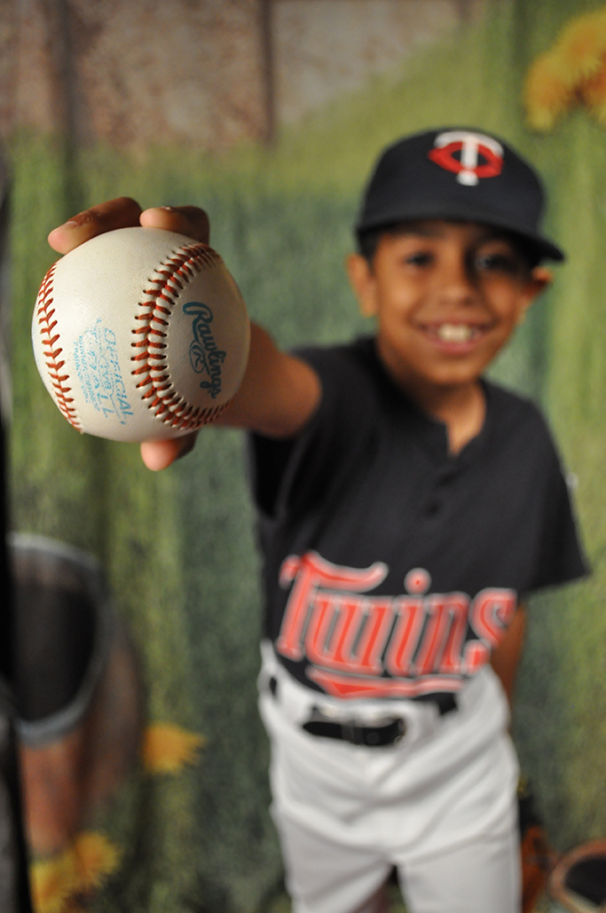 Gina Rasicci, Child Portrait, Baseball, Portrait, Photography