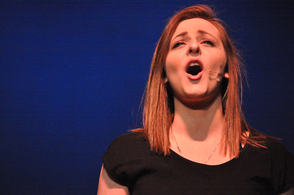 Meredith Dettorre, Gina Rasicci, Singing, Photography, Portrait, Green High School Ensemble