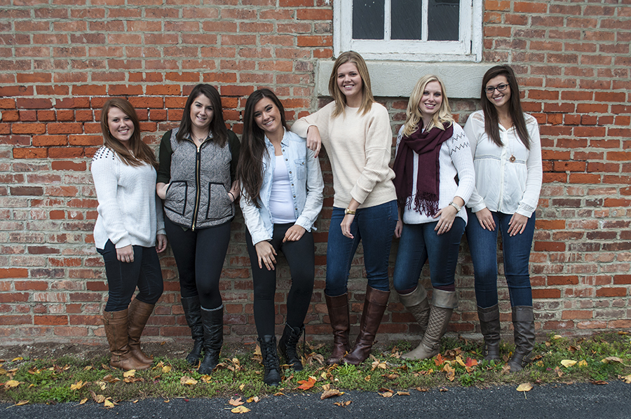 Kappa Kappa Gamma, Gina Rasicci, KKG, Sorority, Fall, Leaves, Photography
